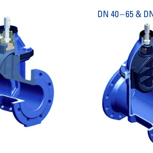 Задвижка Düker (Dueker) тип 4004 для воды