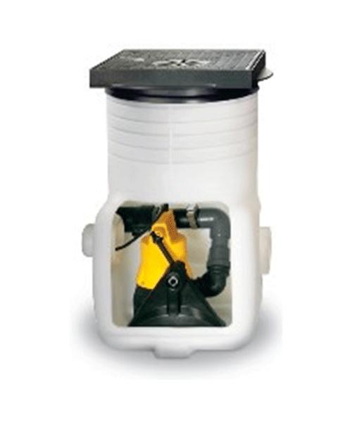 Компактный колодец для монтажа на фундаменте Baufix 50