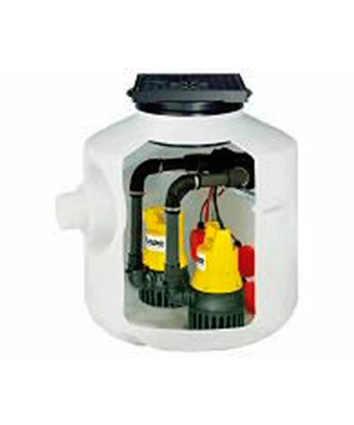 Baufix200 компактный колодец для монтажа на фундаменте