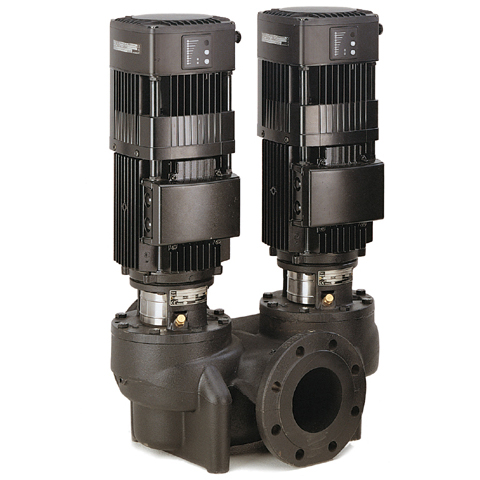 Сдвоенные насосы TPED серии 1000 (без датчика перепада давления) 2900 об/мин