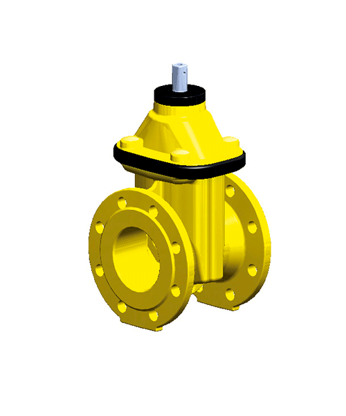 Задвижка Düker (Dueker) тип 2004 для газа