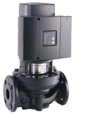 Одинарные насосы ТРE серии 2000 Grundfos (с датчиком перепада давления) 1450 об/мин